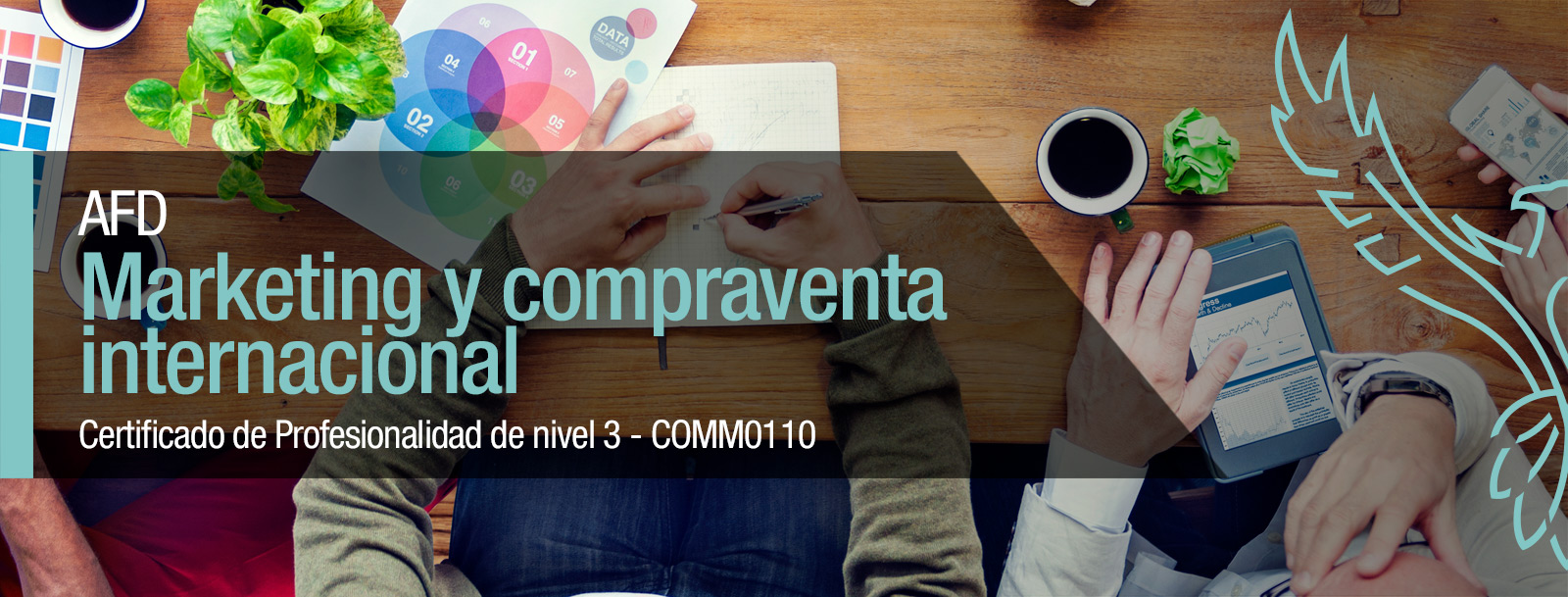 Curso de marketing y compraventa internacional